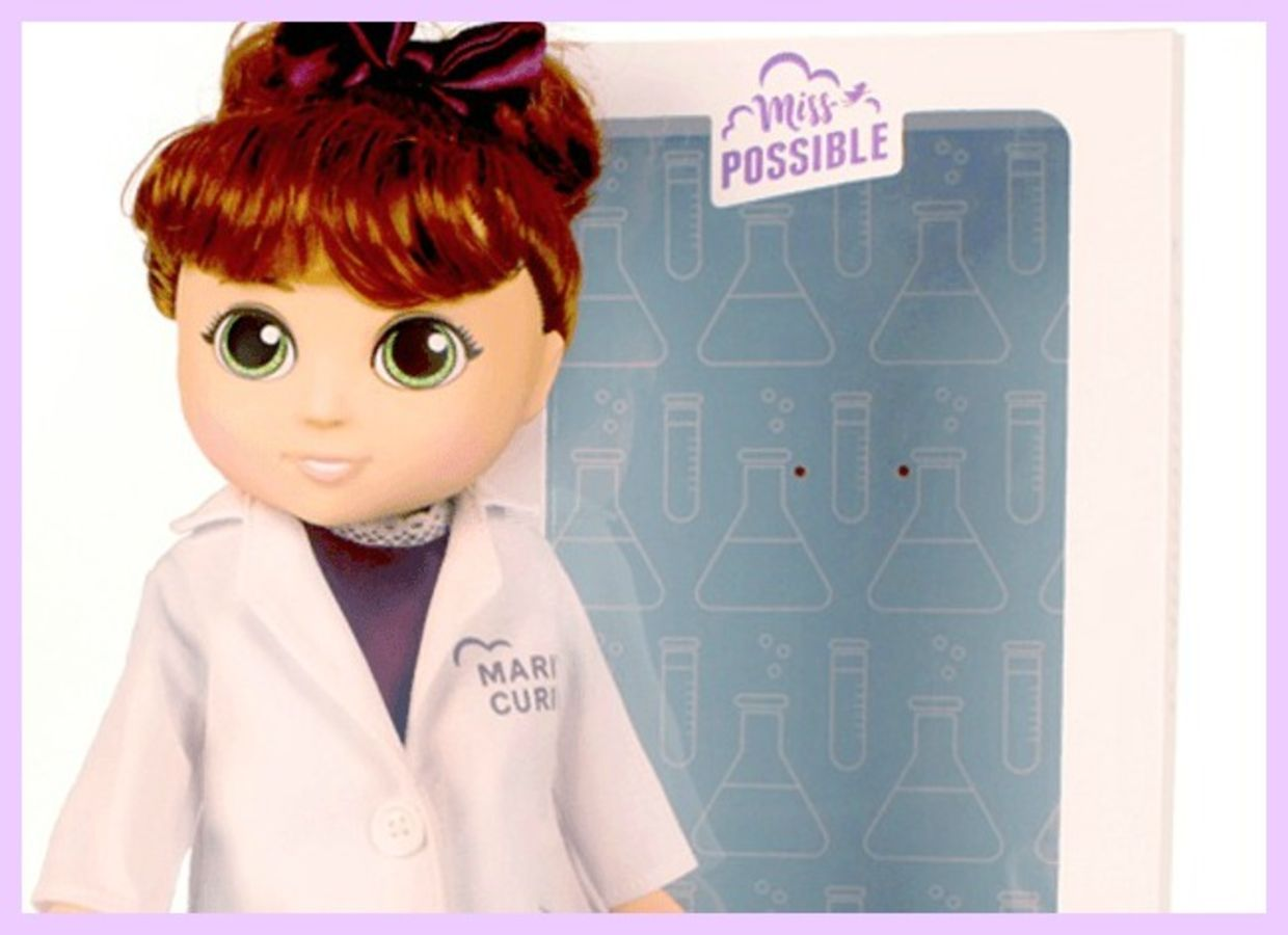 Marie Curie Miss Possible doll