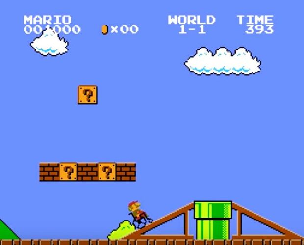 Screenshot of Super Mario Bros. Access for Everyone video