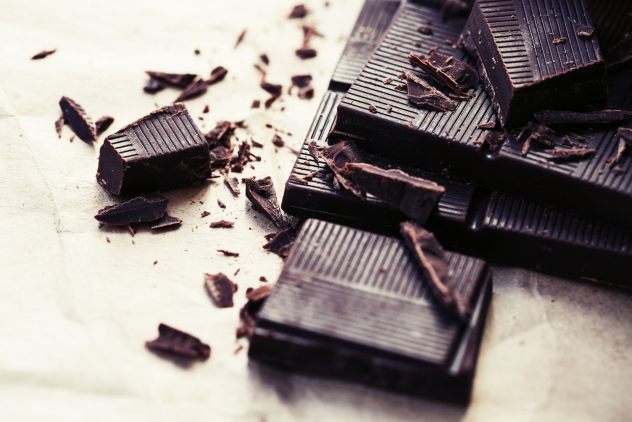 Dark chocolate is a great brain food