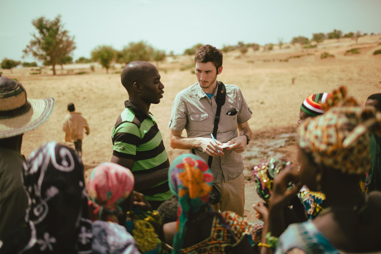 A charity: water trip to West Africa