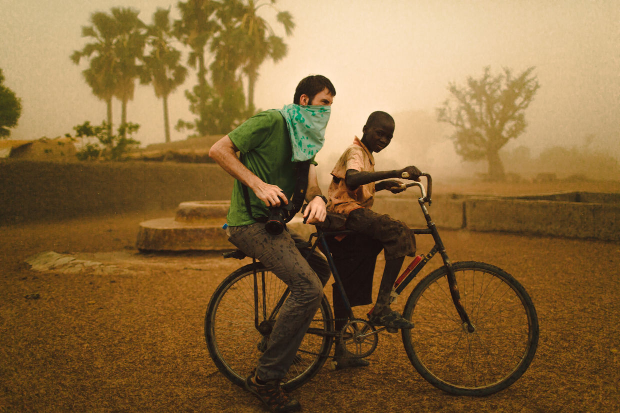 Tyler Riewer in Mali