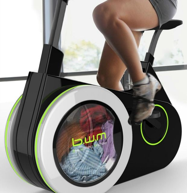 Exercise Bike That Washes Clothes: The Exercise Bike That Washes Your Laundry As You Ride