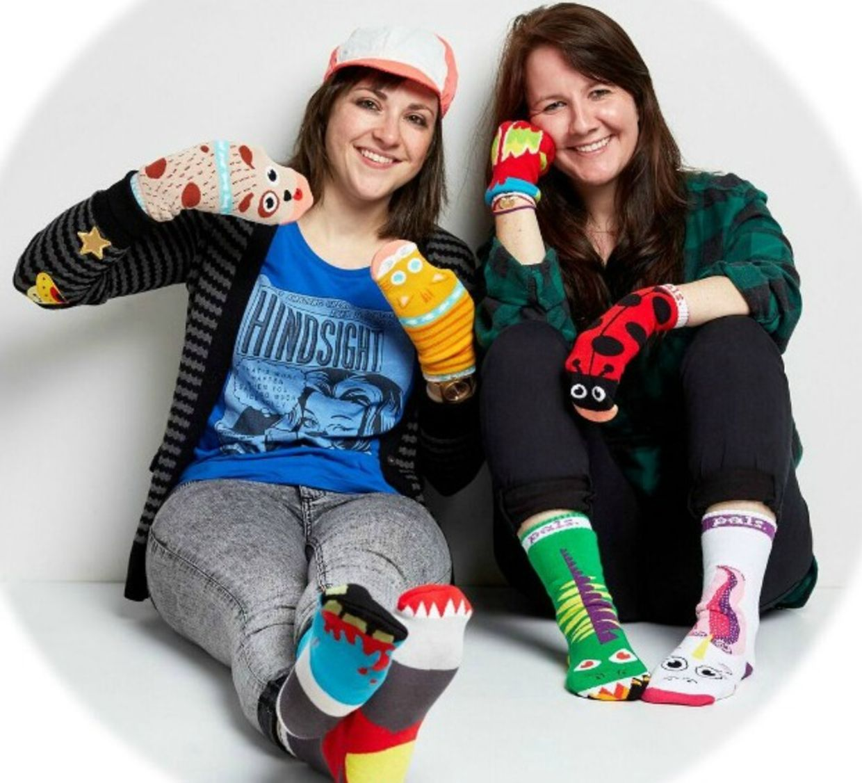 Hannah Lavon and Ashley Connors, Founders of Pals Socks