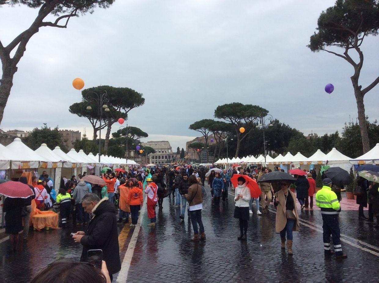 Good Deeds Day 2015 in Rome