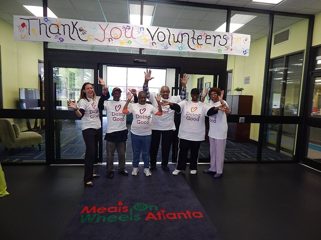 Good Deeds Day volunteers in Atlanta