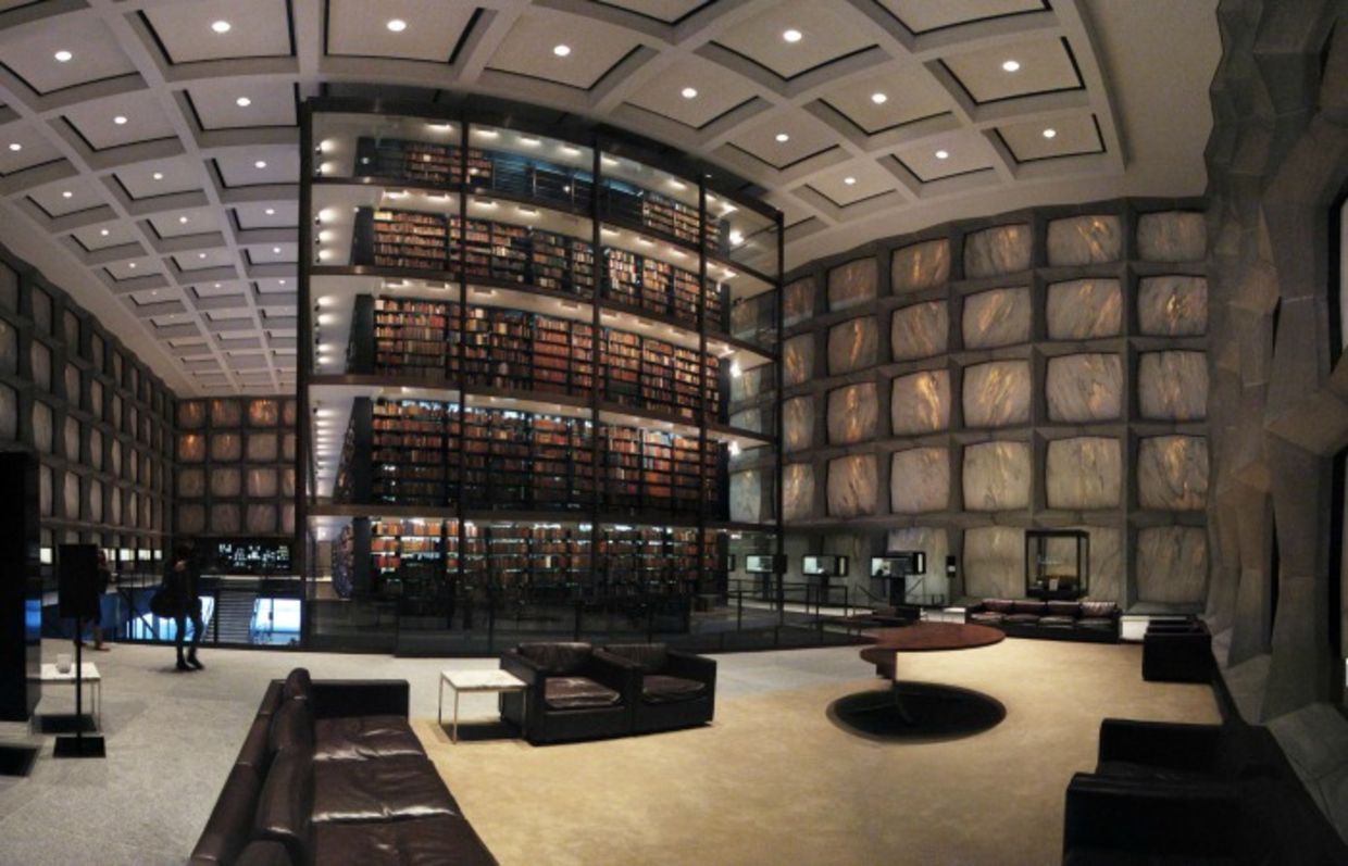 The Beinecke Rare Book and Manuscript Library