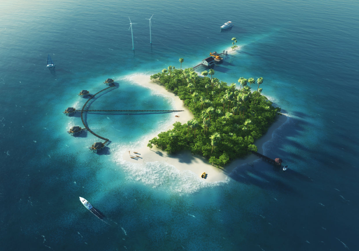 Being a private island caretaker is probably one of the best jobs in the world. (Shutterstock)