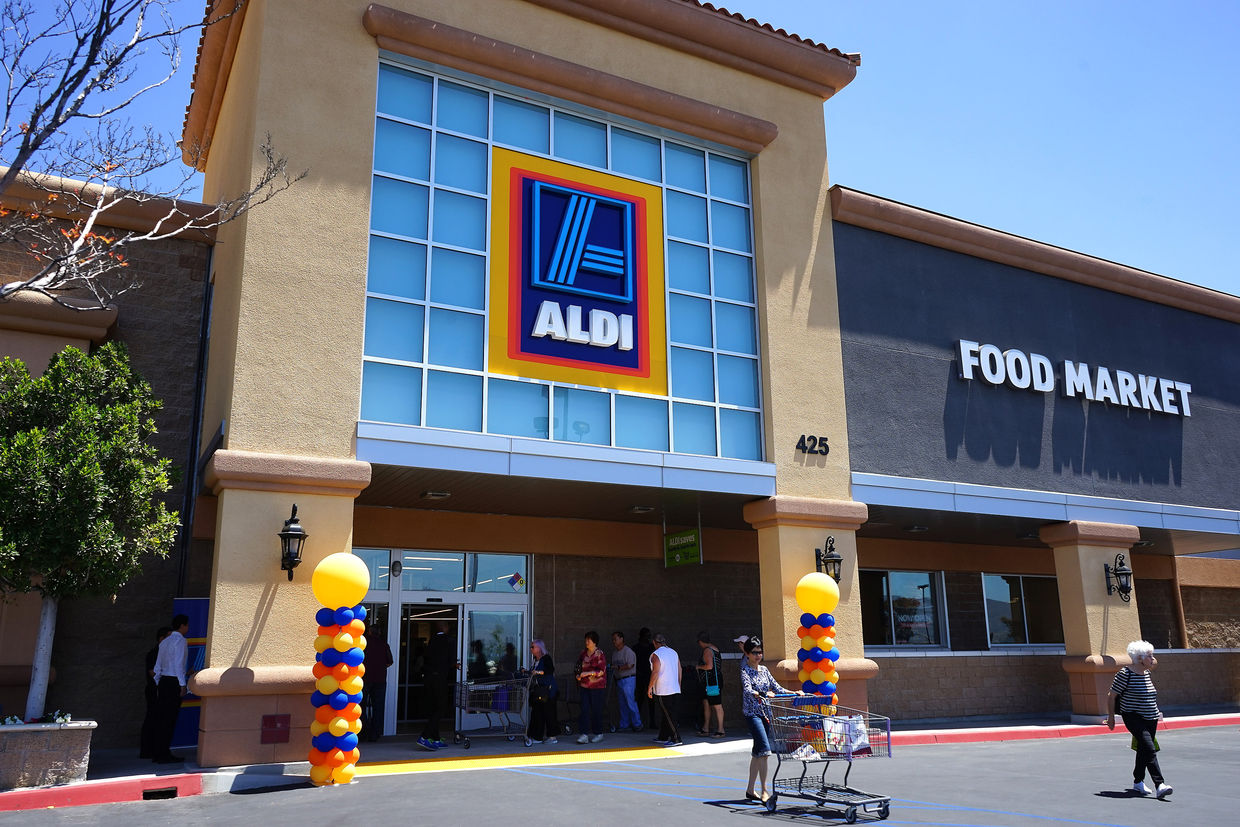 aldi supermarket in california