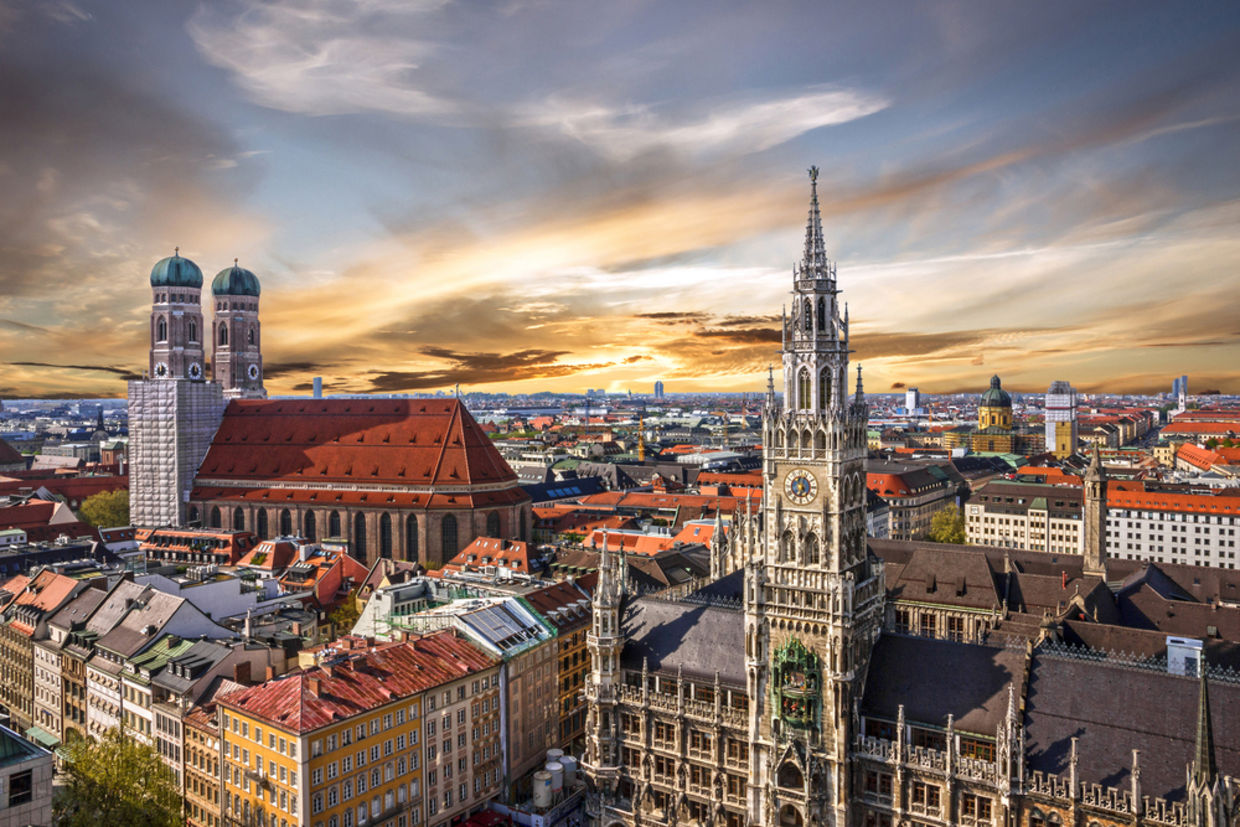 Munich has over 20 parks and an impeccable bus, metro, and train system. (Shutterstock)