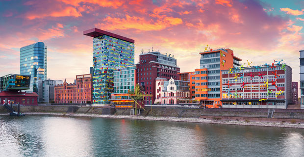 The stunning combination of metropolitan and Old World elegance is what makes Düsseldorf so special. (Shutterstock)