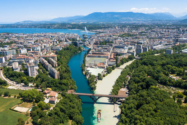 Geneva is the true international city. (Shutterstock)