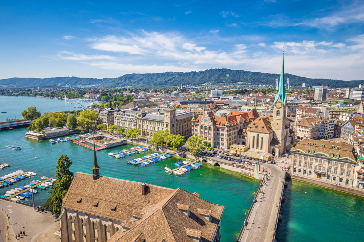 Zurich is known for its well-designed public spaces and booming economy. (Shutterstock)
