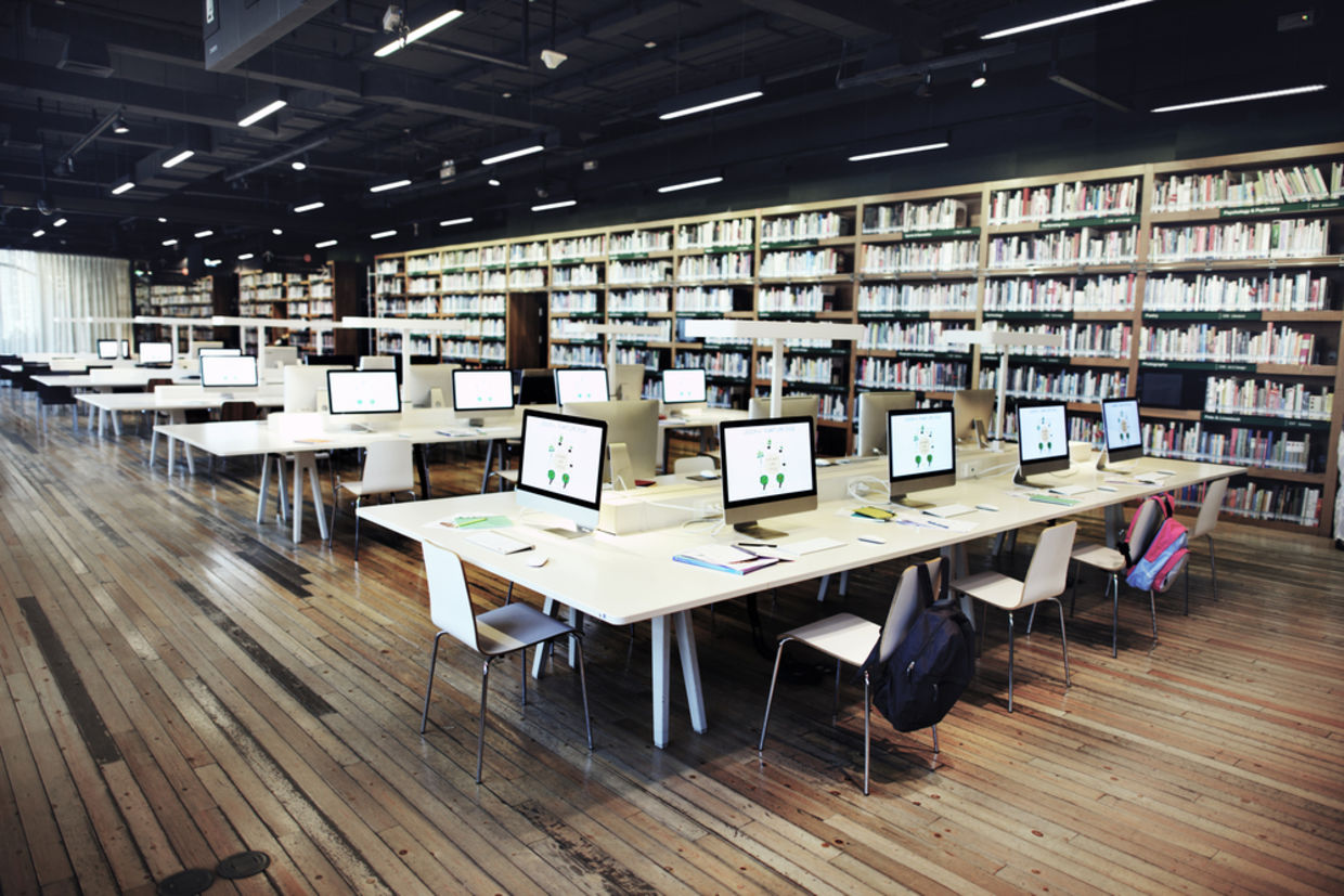 Musty aisles of books have been traded out for fully-equipped makerspaces. (Shutterstock)