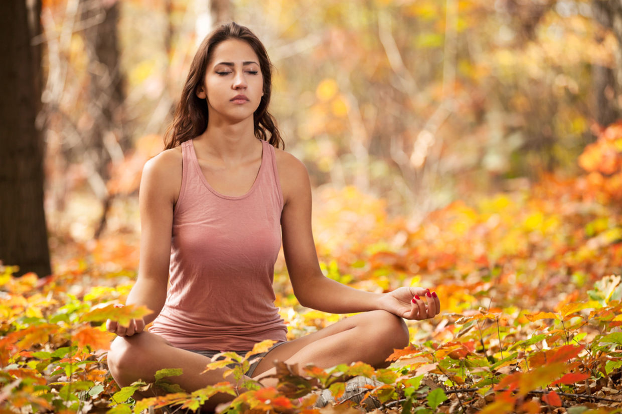 Meditation trains the brain to focus on decluttering your thoughts. (Shutterstock)