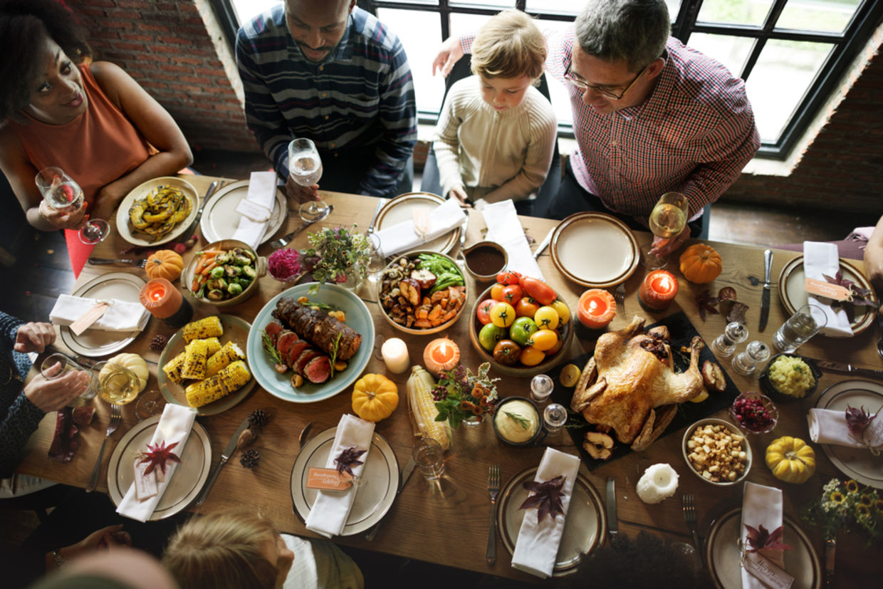 Thanksgiving is the perfect time to appreciate the tangible and intangible moments of life's wonders. (Shutterstock)