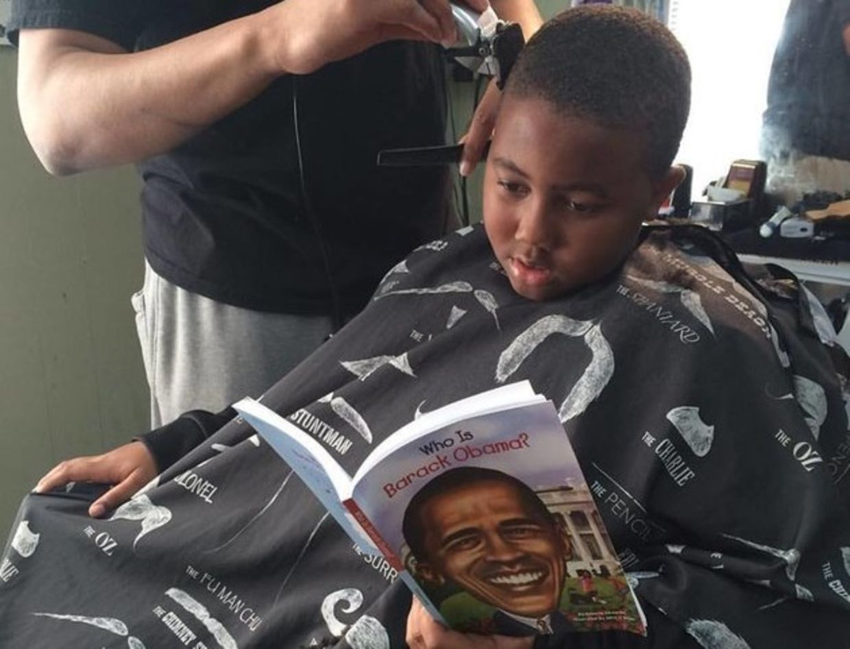 Barber Ypsilanti : How a Haircut is Increasing Childrens Literacy in Michigan - Goodnet
