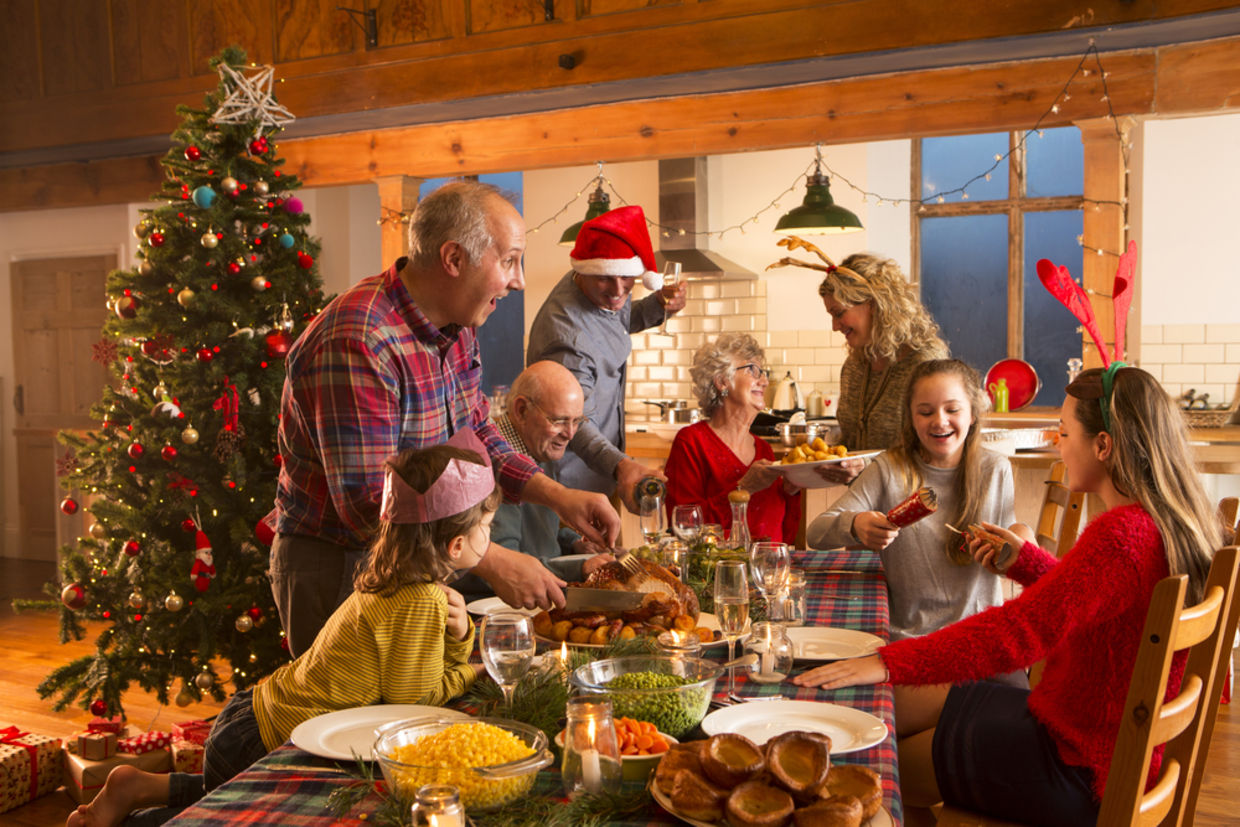 This holiday season, enjoy the happy, imperfect moments and say goodbye to stress. (Shutterstock)
