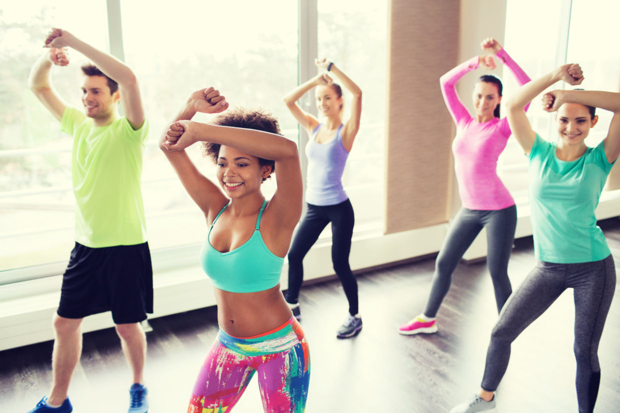 Dance cardio workouts burn a ton of calories all while keeping your sweat session exciting and fun. (Shutterstock)