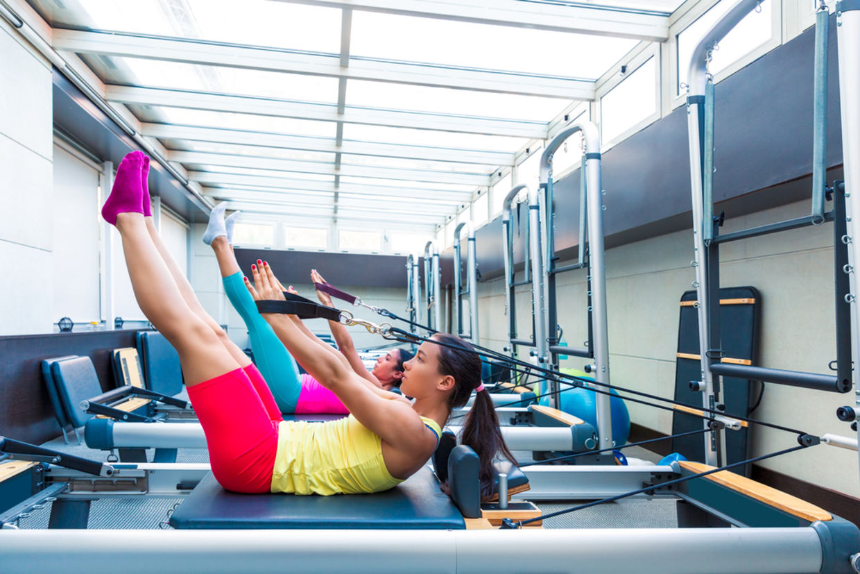 Megaformer has been described as Pilates on steroids by many people doing it. (Shutterstock)