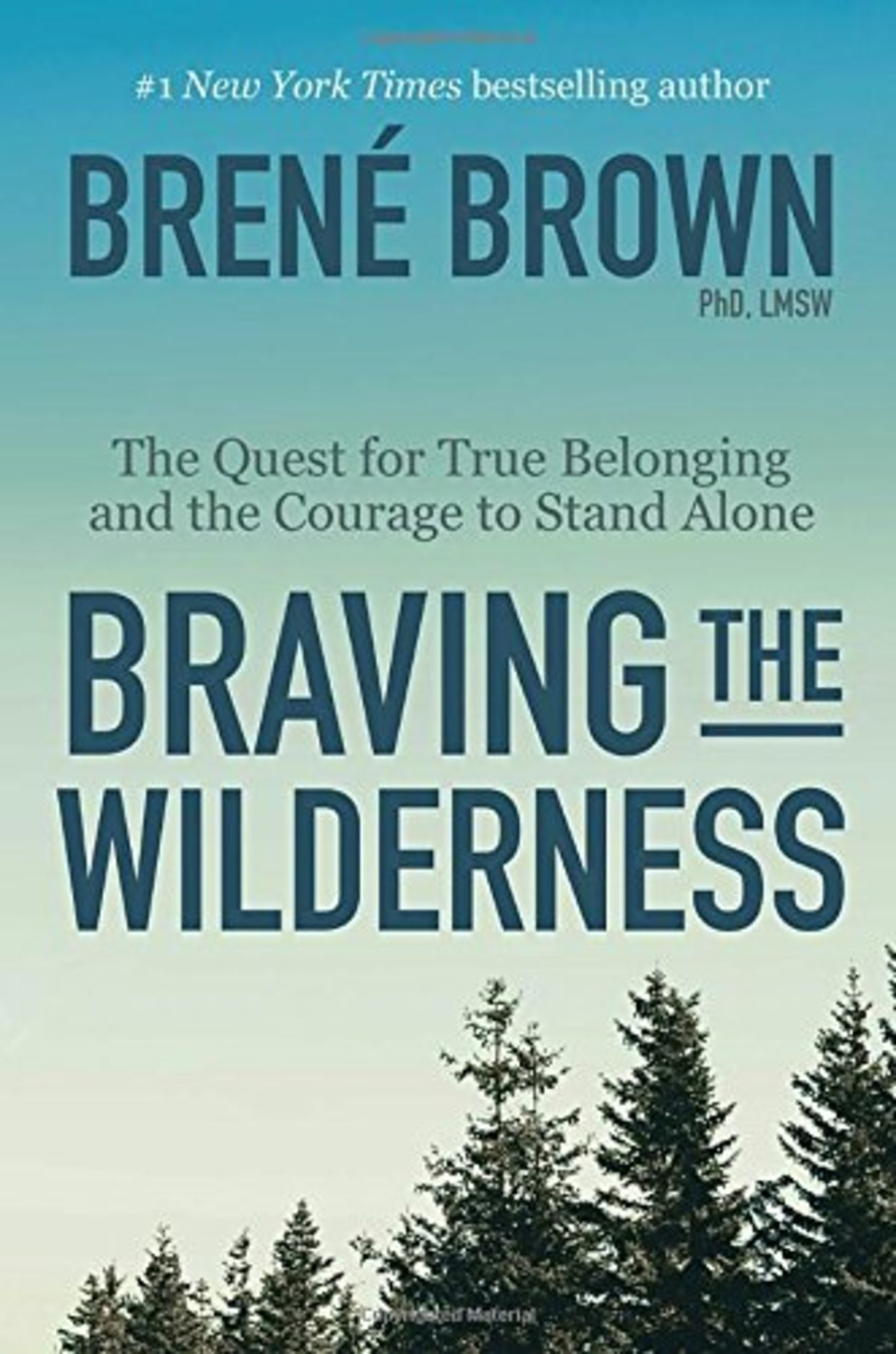Braving the Wilderness: The Quest for True Belonging and the Courage to Stand Alone, by Brené Brown