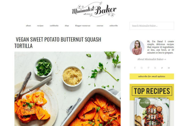 5 plant based blogs that make vegan cooking delicious fun goodnet the minimalist baker has everything from dairy free milk recipes to crackers and delicious dinners her deserts are particularly impressive forumfinder Gallery