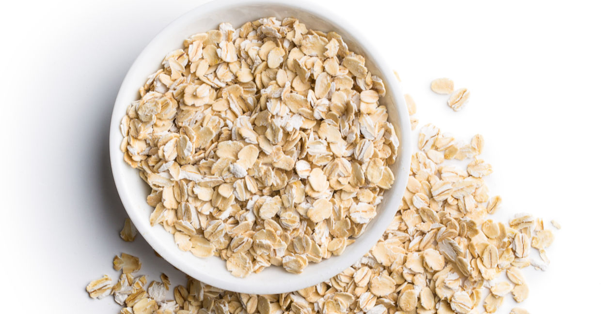 Oatmeal is a great ingredient for natural skincare