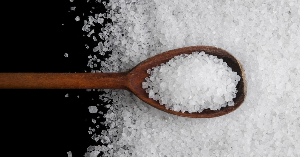 Sea salt is great for natural skincare