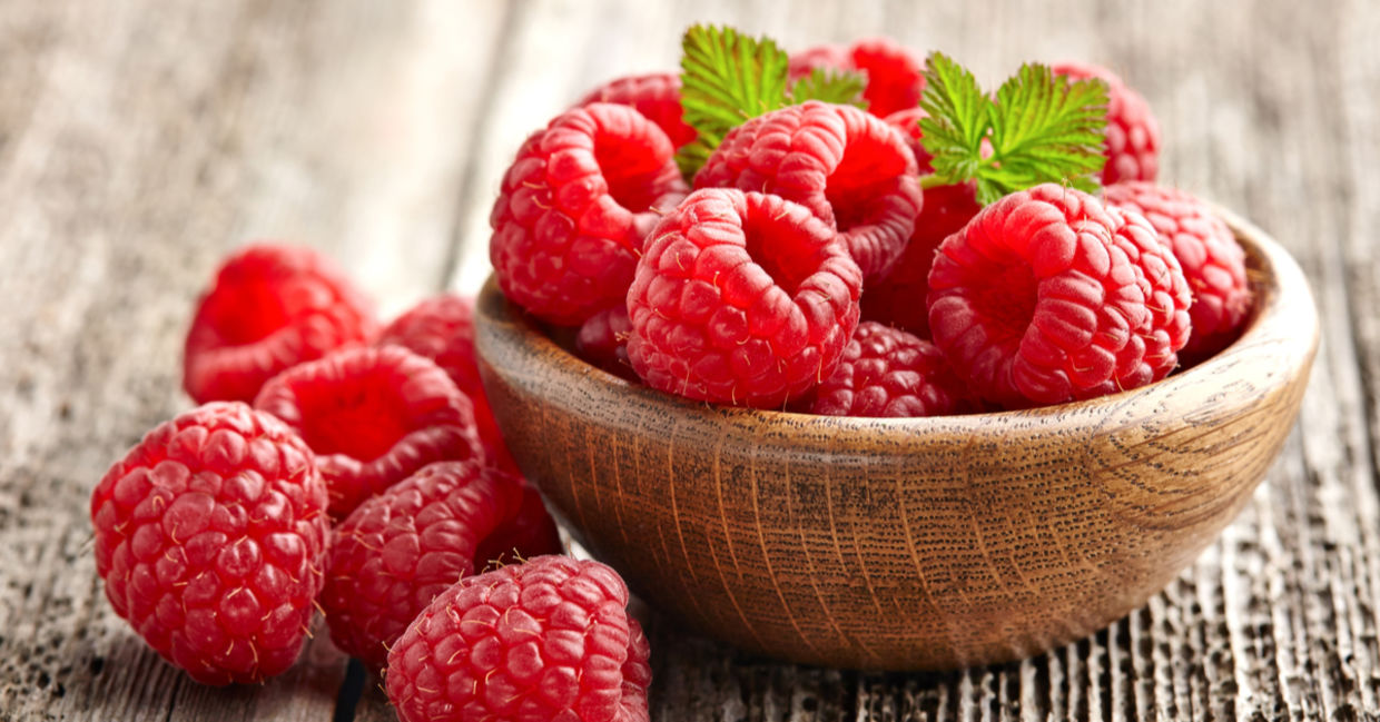 Raspberries are one of the healthiest foods in the world