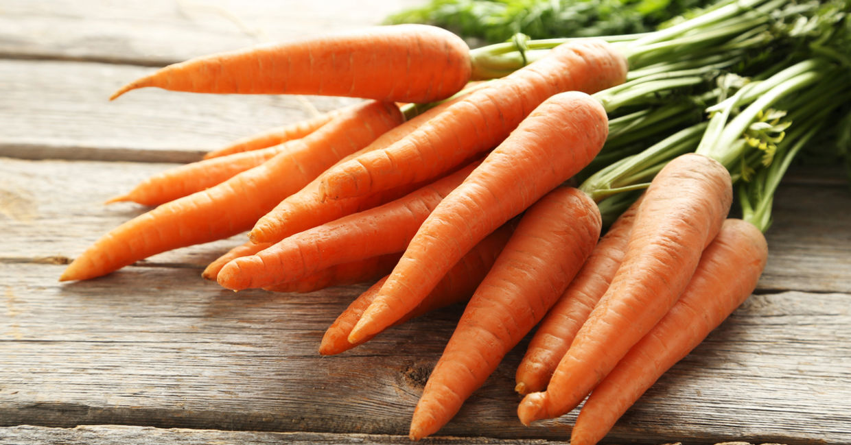Carrots are packed with essential vitamins and minerals