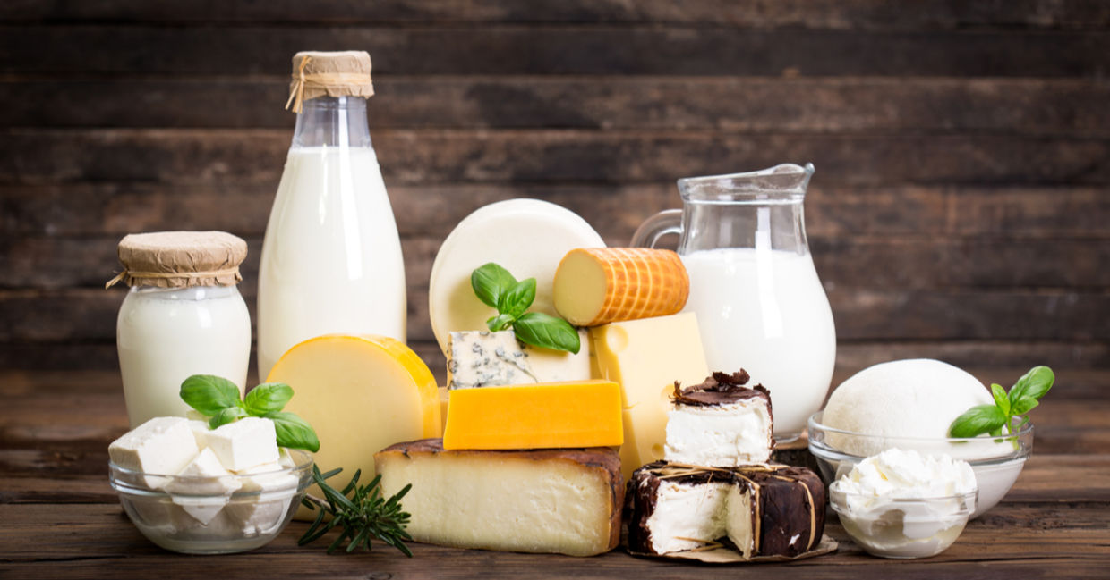 Low-fat dairy products boost mood